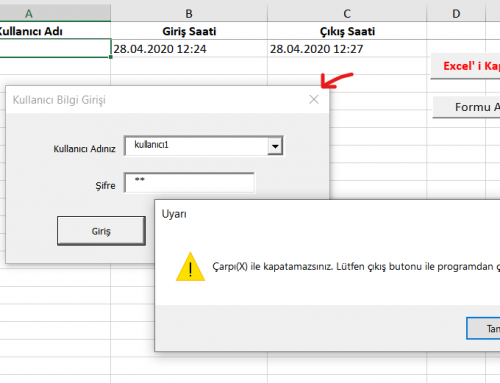 Userform Login ( Excel )